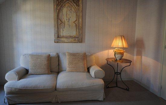 Montsoreau, Francia: chambre Moulin,côté jardin