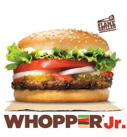 Whopper Jr - Picture of Burger King, Port Dickson - TripAdvisor