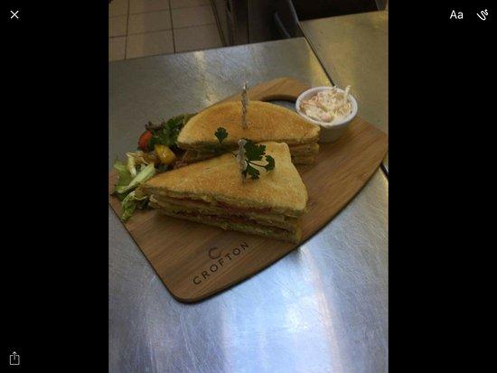 Lockerbie, UK: Sandwich from the lunch time menu