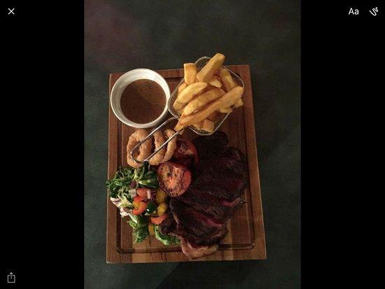 Lockerbie, UK: Sirloin steak