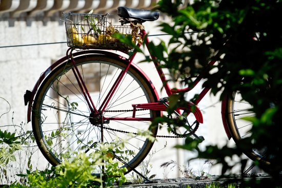Vis, Kroasia: we love bikes