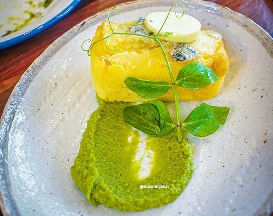 Ashfield, ออสเตรเลีย: Blue cornbread