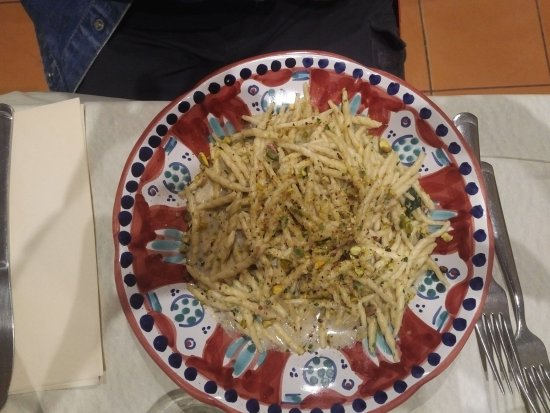Pulcinella Bistro: freccie pistacchio e gorgonzola