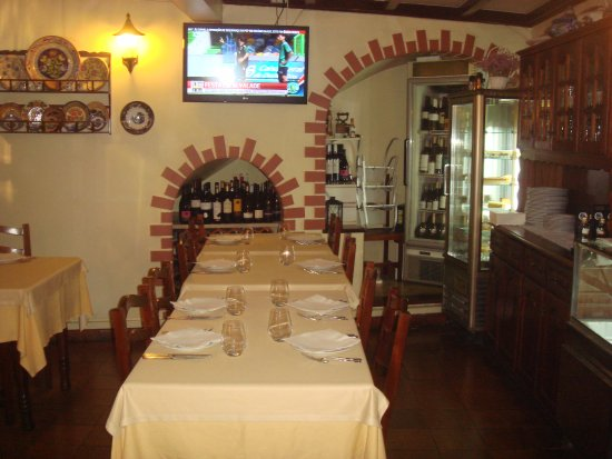A lanterna: Sala do Restaurante