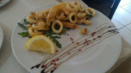 Vitulazio, Itália: frittura mista
