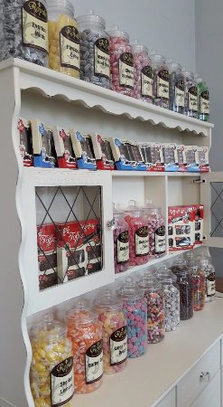 Shepton Mallet, UK: The Fairy Godmother is also an Olde Fashioned Sweet Shoppe