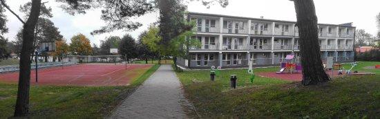 "Dabki, Polonia: W sanatorium ""Susmed""."