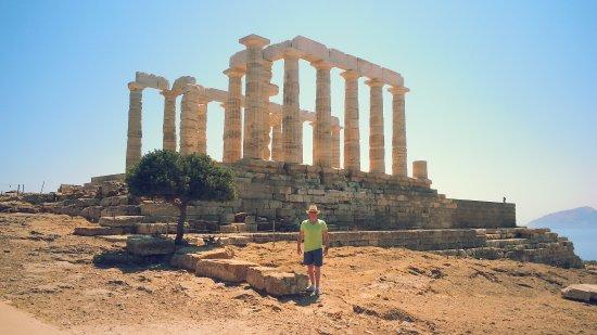Sounio, Grécia: Front view