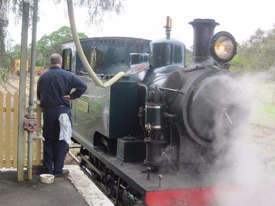 Queenscliff, Australia: The historic steam engine