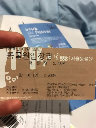 Seoul Grand Park: Zoo Admission Ticket