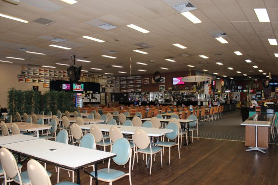 Evans Head, Australia: Lounge and bar area