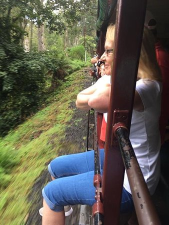 Belgrave, Австралия: My trip to puffing billy railway.