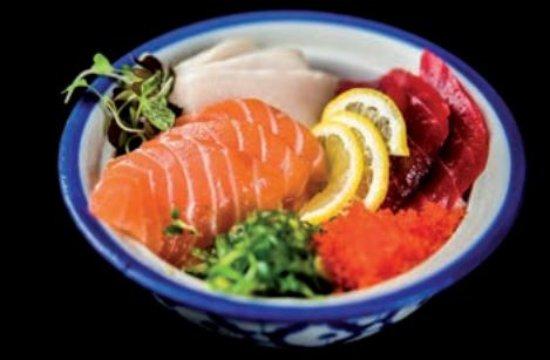 Las Rozas, Spain: Arroz con sashimi