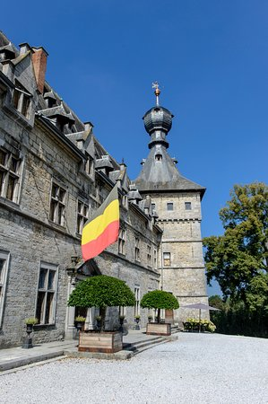 Le Château de Chimay : Façade du Château Chimay ©Patricia Portetelle