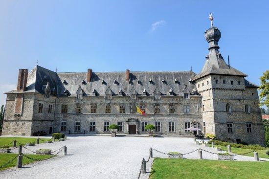 Façade du Château de Chimay ©Patricia Portetelle