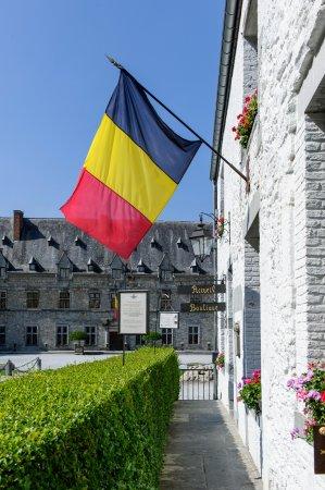 Le Château de Chimay : Accueil du Château de Chimay ©Patricia Portetelle