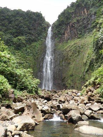 Parc National, Guadeloupe: prise de vue de 2012 sous le soleil