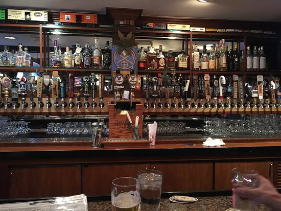 Backcountry Pizza & Tap House: Can you have too many taps!