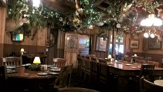 Grand Rivers, KY: Our dining room