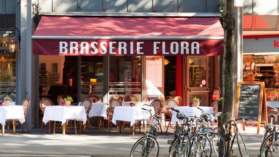 Brasserie Flora: Aussenansicht Brasserie
