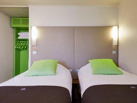 Mondeville, Frankrike: Chambre twin