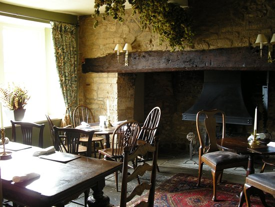 Hinton St George, UK: Lord Poulett Arms dining room