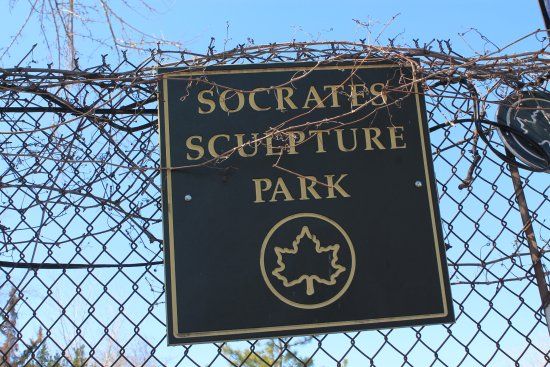 Long Island City, NY: I'll visit anything named after Socrates.