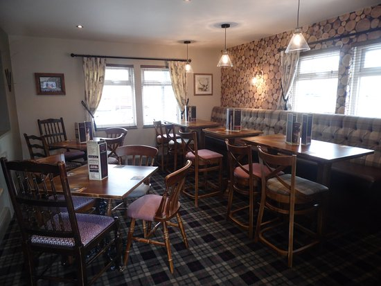 Brighouse, UK: Dining in comfort makes all the difference