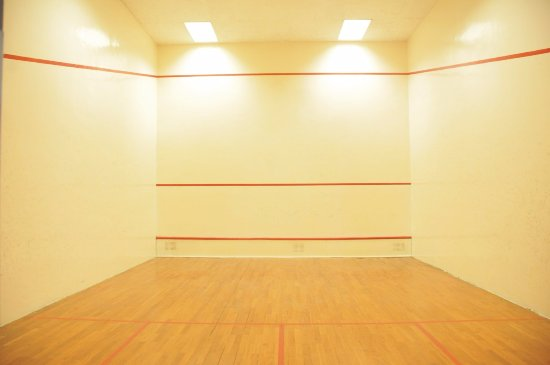 Nicon Luxury, Abuja: one of 3 squash courts