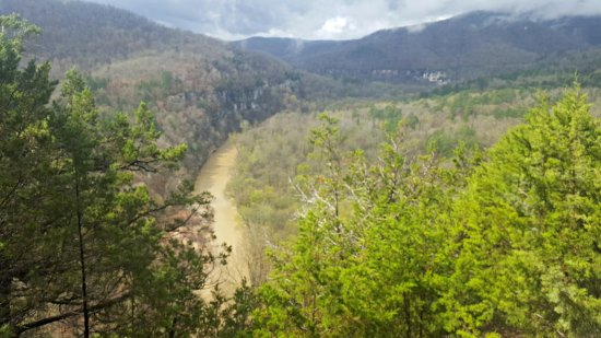 Harrison, AR: View from Big Bluff