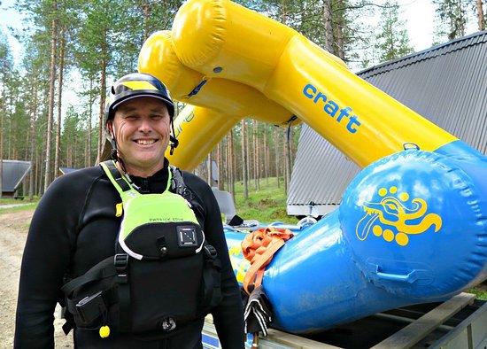 Vindeln, Sverige: Guide Patrik Edin