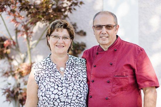 Frauenfeld, Suiza: Ihre Gastgeber: Heidi Dettling & Jacques Marmillod