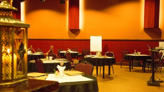 Zevenbergen, Nederländerna: Theaterzaal voor feesten en andere bijeenkomsten van grote groepen.