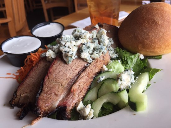 McArthur, OH: Brisket and Blue Cheese Salad
