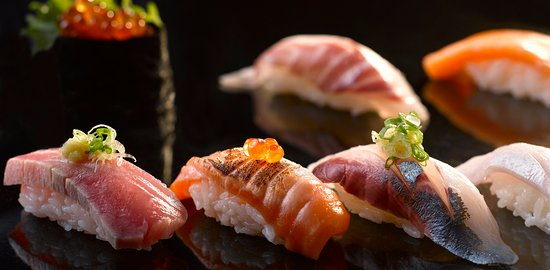 Raffles Place, Singapore: Japanese Buffet at The North Courtyard