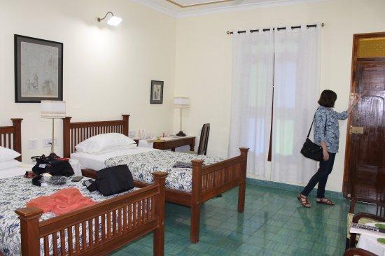 The Bangala: The spacious bedroom