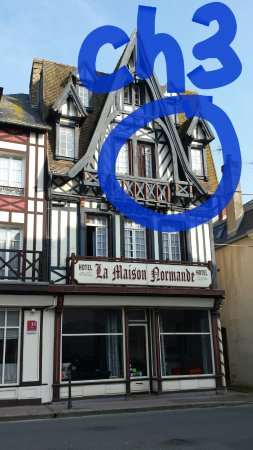 La Maison Normande: Emplacement de la chambre numéro 3