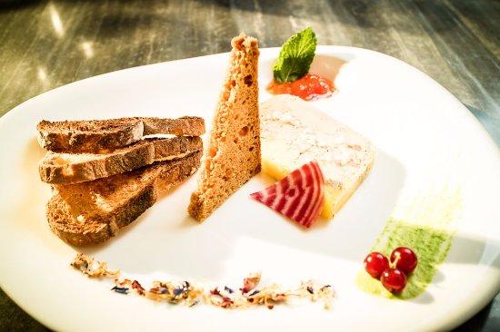 Notre Foie gras maison mi cuit - Picture of Le Flowers, Argeles