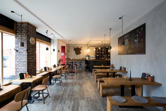 Marktredwitz, Germany: BAROS Burger - Gastraum
