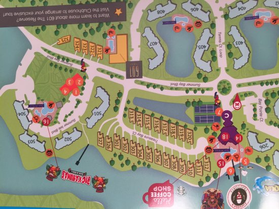 Summer Bay Resort Orlando Map photo0.   Picture of Summer Bay Orlando By Exploria Resorts