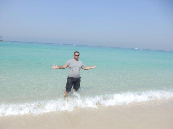 Playa y Parque Jumeira: Jumeriah Beach...Blue waters