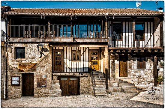 San Martin del Castanar, Spanien: Versos Restaurante en San Martín del Castañar
