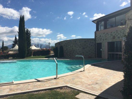 Torgiano, Italia: Panorami da Borgobrufa