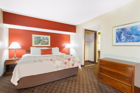 Holland, OH: Space, space and more space...our suites are larger than any standard hotel room.