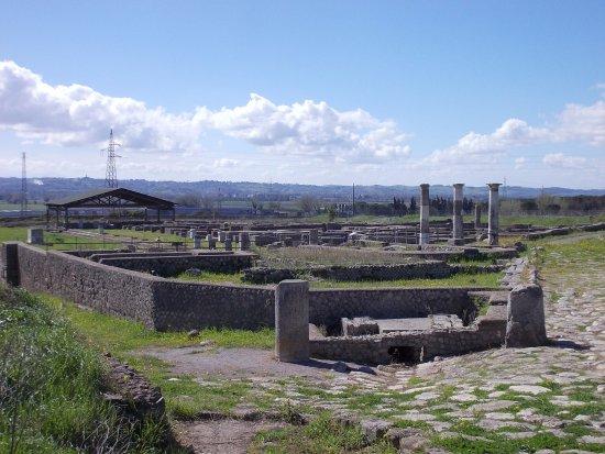 OmoGirando Lucus Feroniae e la Villa dei Volusii - Capena (RM),  12 ottobre 2019 Lucus-feroniae