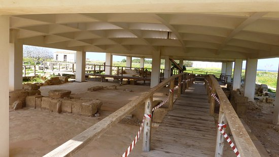 Museo Archeologico Baglio Anselmi : The remains of the bathhouse at Lillybaeum in Marsala