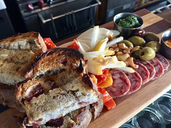 Driggs, ID: Charcuterie Board - Local Bread, Meat, Cheese, Olives, Nuts, Fruit