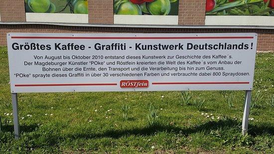 Kaffee-Graffiti
