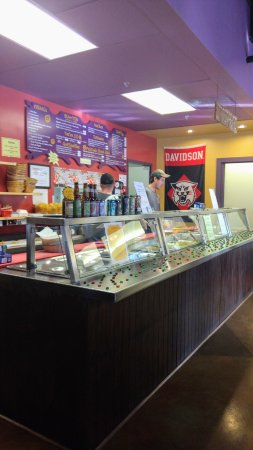 Davidson, NC: Orders made fresh!