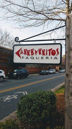 Sign on Main Street Davidson